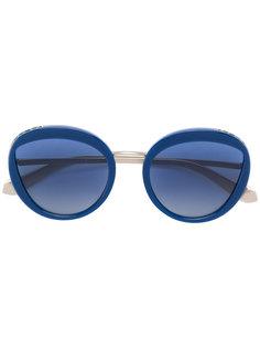 массивные солнцезащитные очки Bulgari