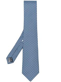 галстук с принтом бантов Salvatore Ferragamo