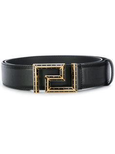 ремень с пряжкой Greek Key Versace