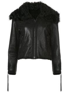 куртка из овчины Oscar de la Renta