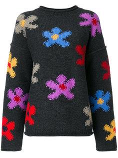 свитер с цветочным узором  Ports 1961