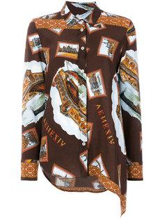 рубашка с принтом  Golden Goose Deluxe Brand