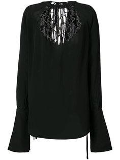 декорированная блузка Ann Demeulemeester
