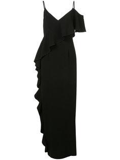 one cold shoulder gown  Rachel Zoe