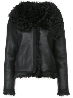 классическая куртка из овчины Oscar de la Renta
