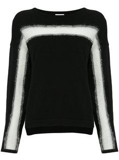 свитер с контрастной полосой En Route