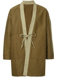 пальто с завязками United Arrows & Sons