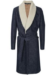 пальто с поясом Caruso