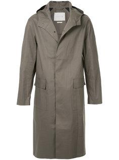 пальто с капюшоном на пуговицах Mackintosh