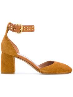 туфли с пряжкой и заклепками Red Valentino