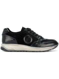 кроссовки с панельным дизайном Giorgio Armani