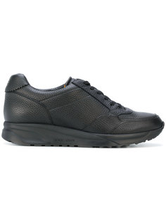 кроссовки на шнуровке Giorgio Armani