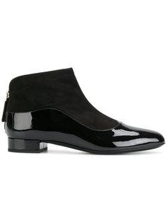 ботинки на молнии Giorgio Armani