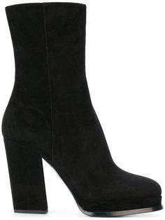 ботинки на платформе Giorgio Armani