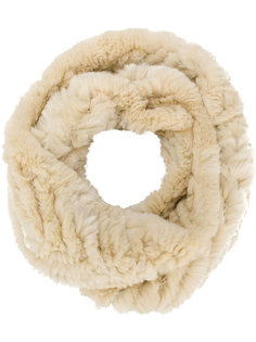 шарф-снуд из кроличьего меха Yves Salomon