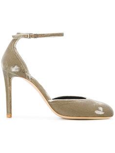 туфли-лодочки с ремешком на щиколотку Giorgio Armani