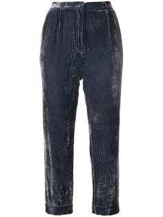 вельветовые укороченные брюки  Mes Demoiselles