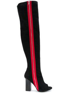 сапоги с открытым носком Marc Ellis