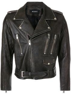 байкерская куртка с молниями Misbhv