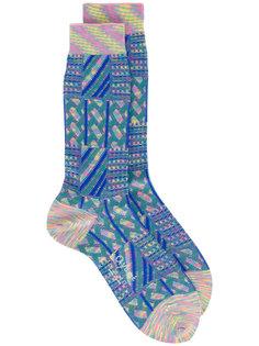 носки с полосатым узором Ayamé