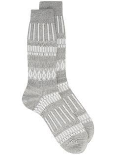 носки с орнаментом Ayamé