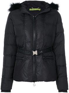 дутая куртка с капюшоном  Versace Jeans