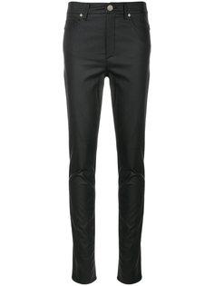 джинсы скинни с атласным эффектом  Versace Jeans