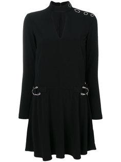 платье с вырезом капелькой  Versace Jeans