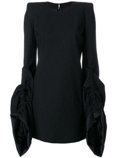 структурированное приталенное платье  Saint Laurent