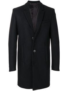 однобортное пальто Diesel Black Gold