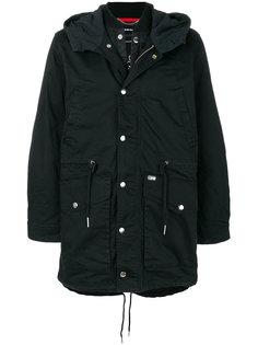 пальто с капюшоном Division  Diesel