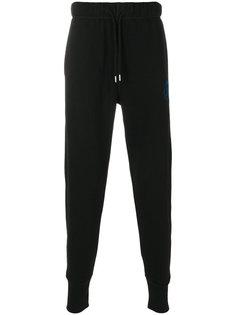 спортивные брюки с логотипом Diesel