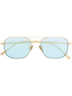 солнцезащитные очки с голубыми линзами Cutler & Gross