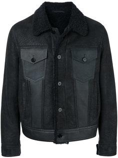 куртка с отелкой из овчины Neil Barrett