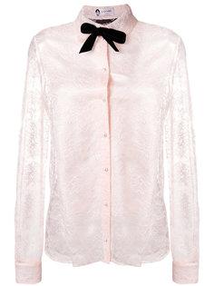 кружевная блузка с бантом Lanvin