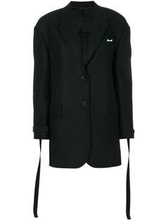 пиджак с завязками на манжетах Neil Barrett