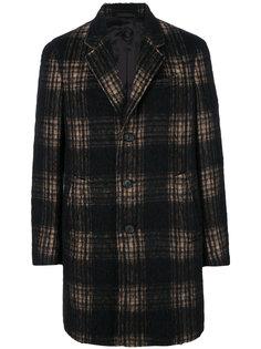 однобортное пальто Caruso