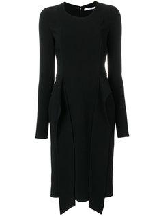 платье с драпировкой  Givenchy