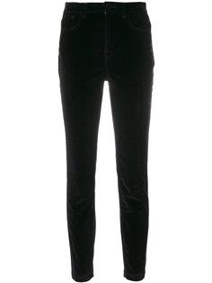 бархатные брюки  Dolce & Gabbana