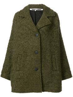 свободное однобортное пальто  McQ Alexander McQueen