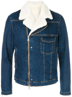 джинсовая куртка на молнии Low Brand