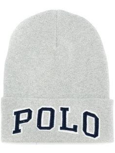 шапка с вышивкой Polo Polo Ralph Lauren
