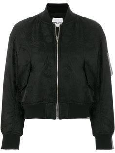 классическая куртка-бомбер Comme Des Garçons Noir Kei Ninomiya