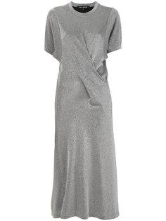 платье-футболка металлик Ter Et Bantine