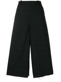широкие укороченные брюки Masnada
