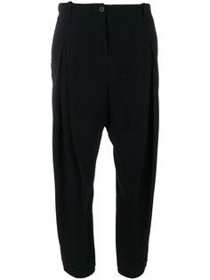 укороченные брюки с завышенной талией Masnada