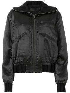 шелковистая куртка-бомбер Haider Ackermann