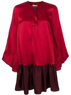 платье шифт Katra дизайна колор-блок Roksanda