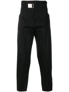 брюки с завышенной талией Balmain