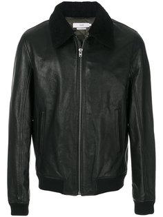куртка со съемным воротником на молнии  Closed